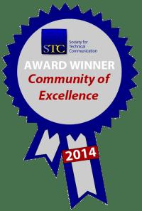 STC Community Achievement Excellence ribbon