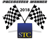 Graphic for the STC 2018 Pacesetter Winner award badge
