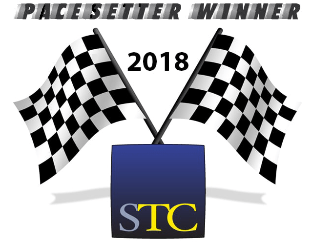 Graphic for the STC 2018 Pacesetter Winner award badge