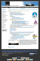 chapter home page design from 2001-2005