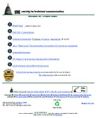 chapter home page design from 1995 to 2001