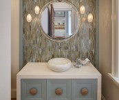 houzz powder room
