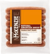 mckenzie all natural angus beef franks