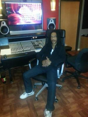 Tiger in the studio