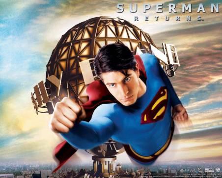 Superman flying 1
