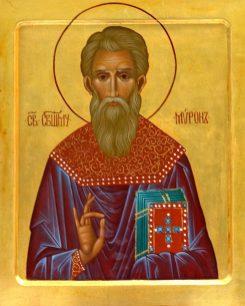 Ikona św. Mirona