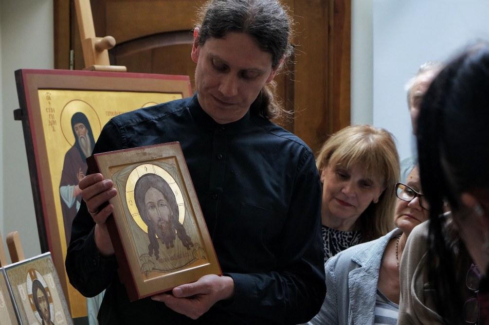 Jan Grigoruk - ikonopis z monasteru w Supraślu