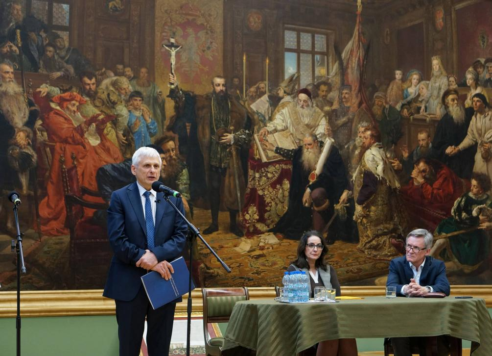 Wykład prof. dr-a hab. Krzysztofa Leśniewskiego