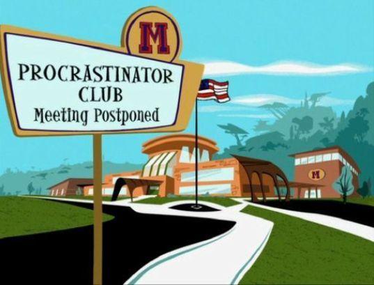 procrastinator club