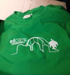 Official EdCamp DSM T-Shirt