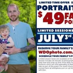 July 4th portrait sale