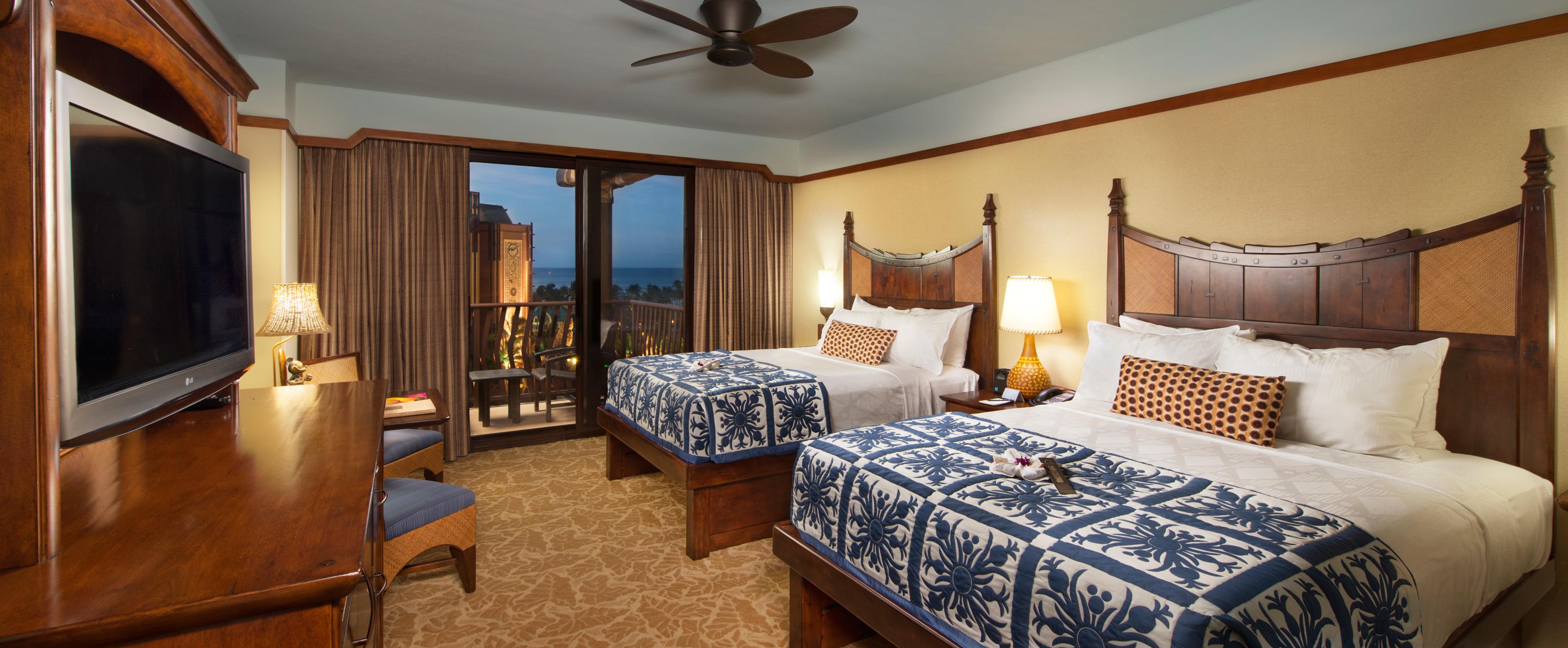 queen sleeper sofa rooms to go small corner sofas standard hotel | aulani hawaii resort & spa