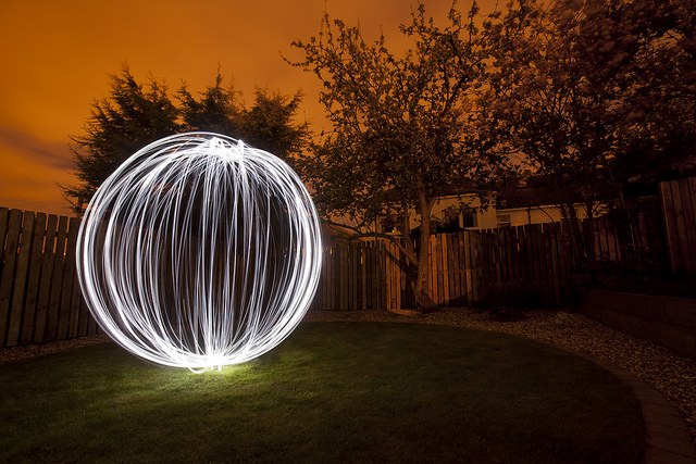 Light Painting an Orb