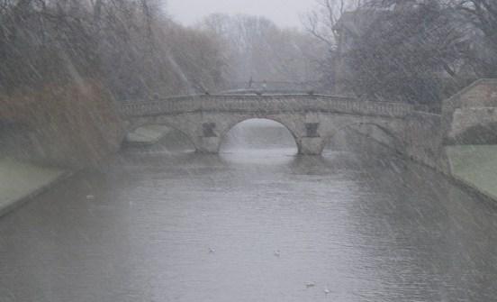 02_David Hall_Clare Bridge in Sleet