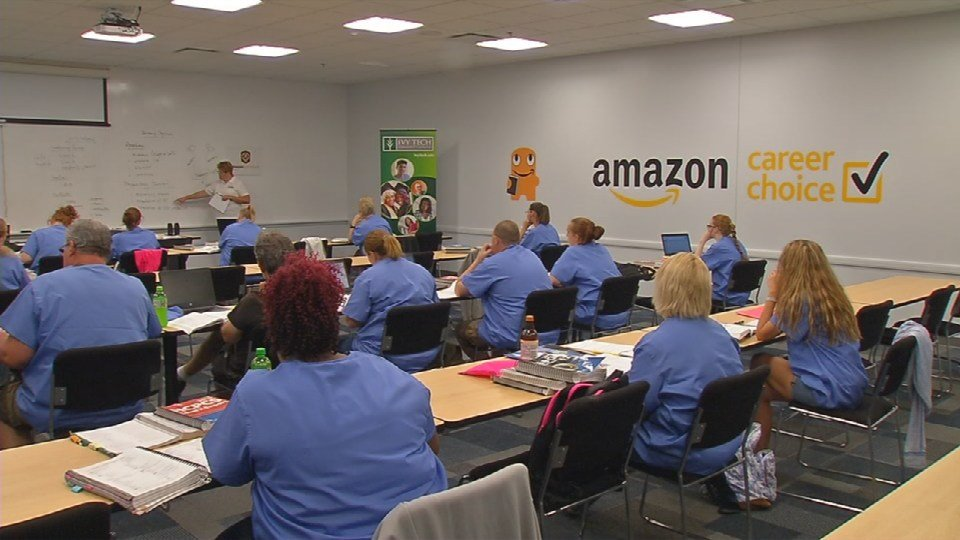 The New Location For Amazon S Career Choice Program Couldn