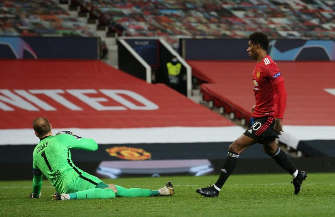 Rashford grabs hat-trick as five-star Red Devils outclass RB Leipzig