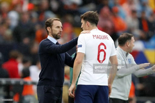 England manager Gareth Southgate has defender Harry Maguire amidst large swathes of criticism aimed at the defender.