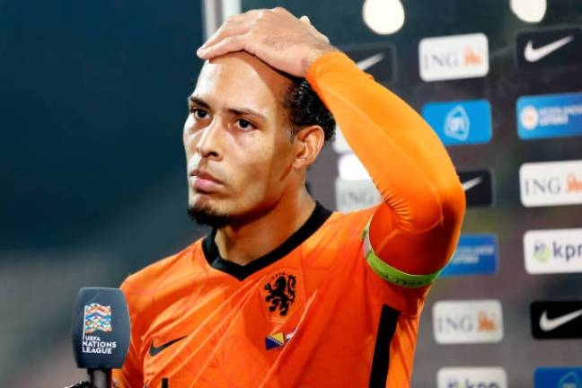 Van dijk set to undergo knee surgery