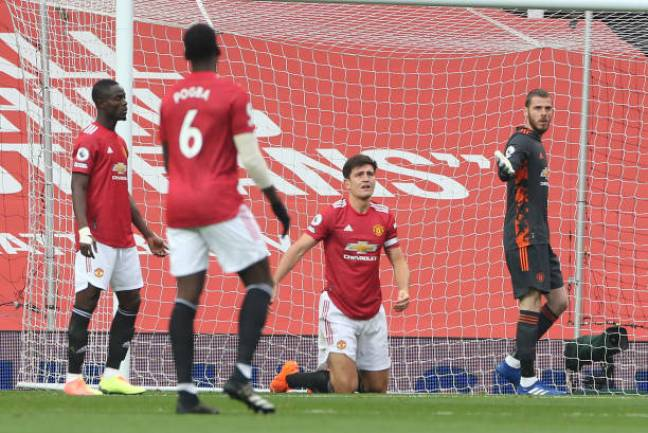 Harry Maguire and his Manchester United teammates put in a shabby showing as they were put to sword by a rampant Spurs team