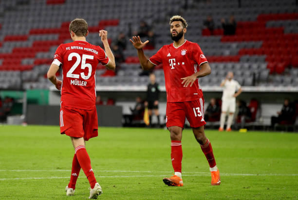 Muller reserves praise for debutant Choupo-Moting after Bayern win