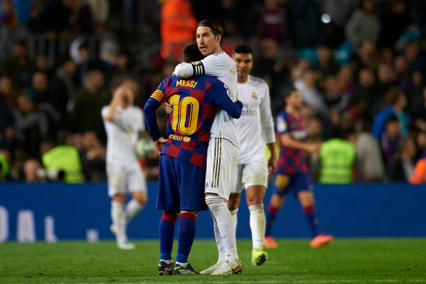 Messi and Ramos