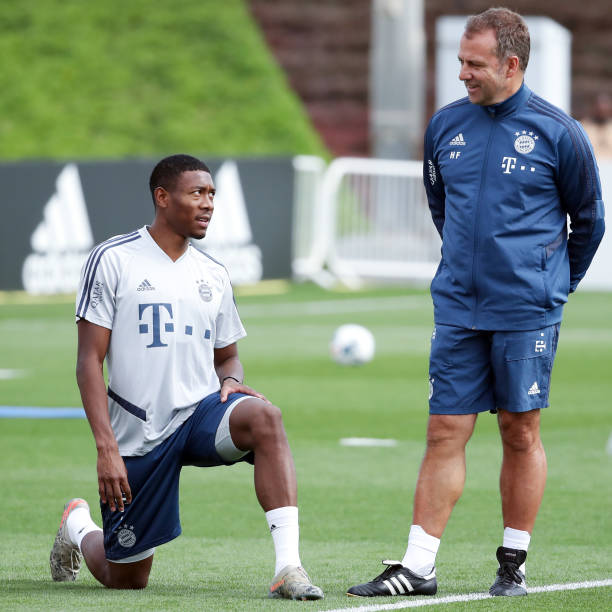 Flick implores Alaba to take responsibility amid contract stand-off