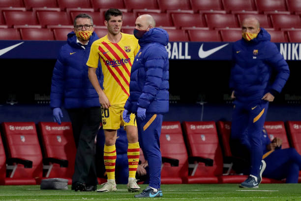 Sergio Roberto out with injury for two months