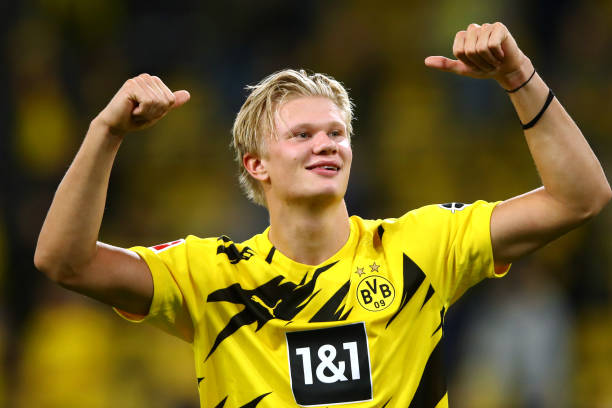 Erling Haaland named 2020 Golden Boy Award winner