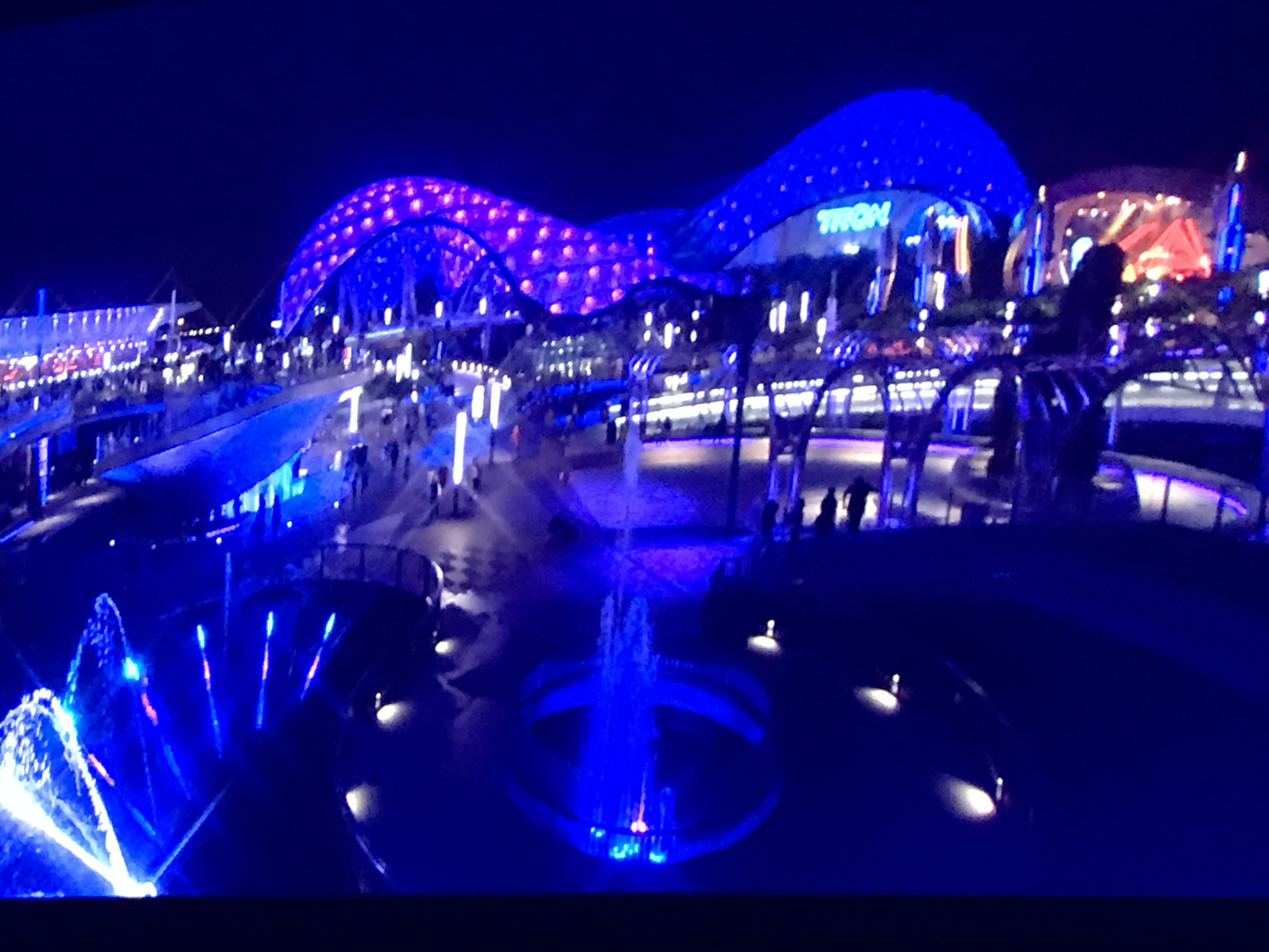 Tron Attraction WDW Daily News