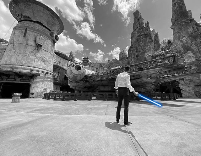 Walt Disney World President Josh D'Amaro Poses Inside of an Empty Star Wars: Galaxy's Edge at Disney's Hollywood Studios for May the 4th - WDW News Today
