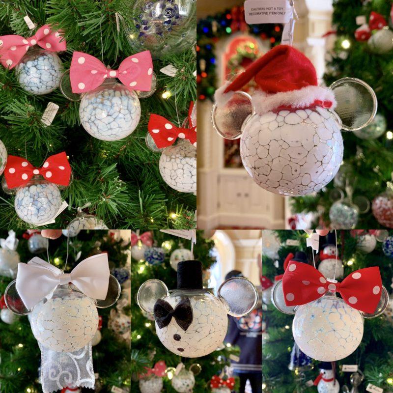 Photos New Mickey And Minnie Blown Glass Christmas Ornaments Arrive At Walt Disney World Wdw News Today