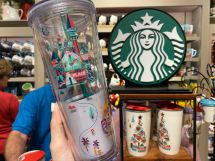 Starbucks Disneyland Resort Park Icons Acrylic