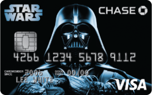 Darth Vader Chase Disney Visa Card