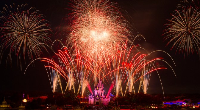 Walt Disney World To Live Stream Independence Day Fireworks!