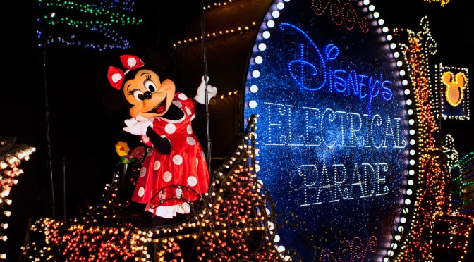 Watch Live Stream of Main Street Electrical Parade from Magic Kingdom Park August 28!