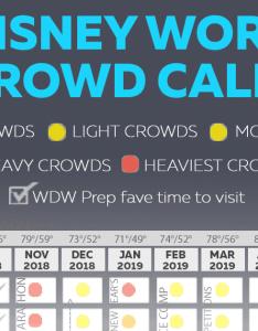 also disney world crowd calendar best times to visit rh wdwprepschool