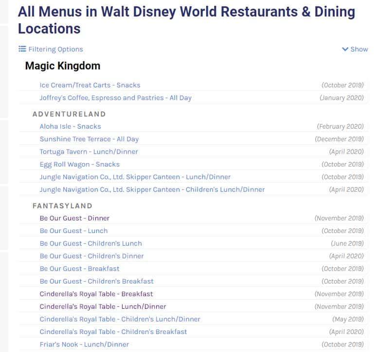 Disney World binder builder - 100 free downloads