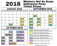 Guide to Mickey's Not-So-Scary Halloween Party | WDW Prep ...
