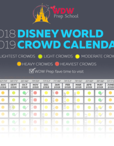 Planning to visit disney world sometime in or and worried about crowds also crowd calendar best times rh wdwprepschool
