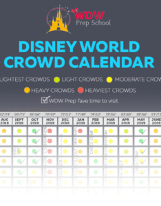 Disney world crowd calendar also best times to go wdw prep school rh wdwprepschool