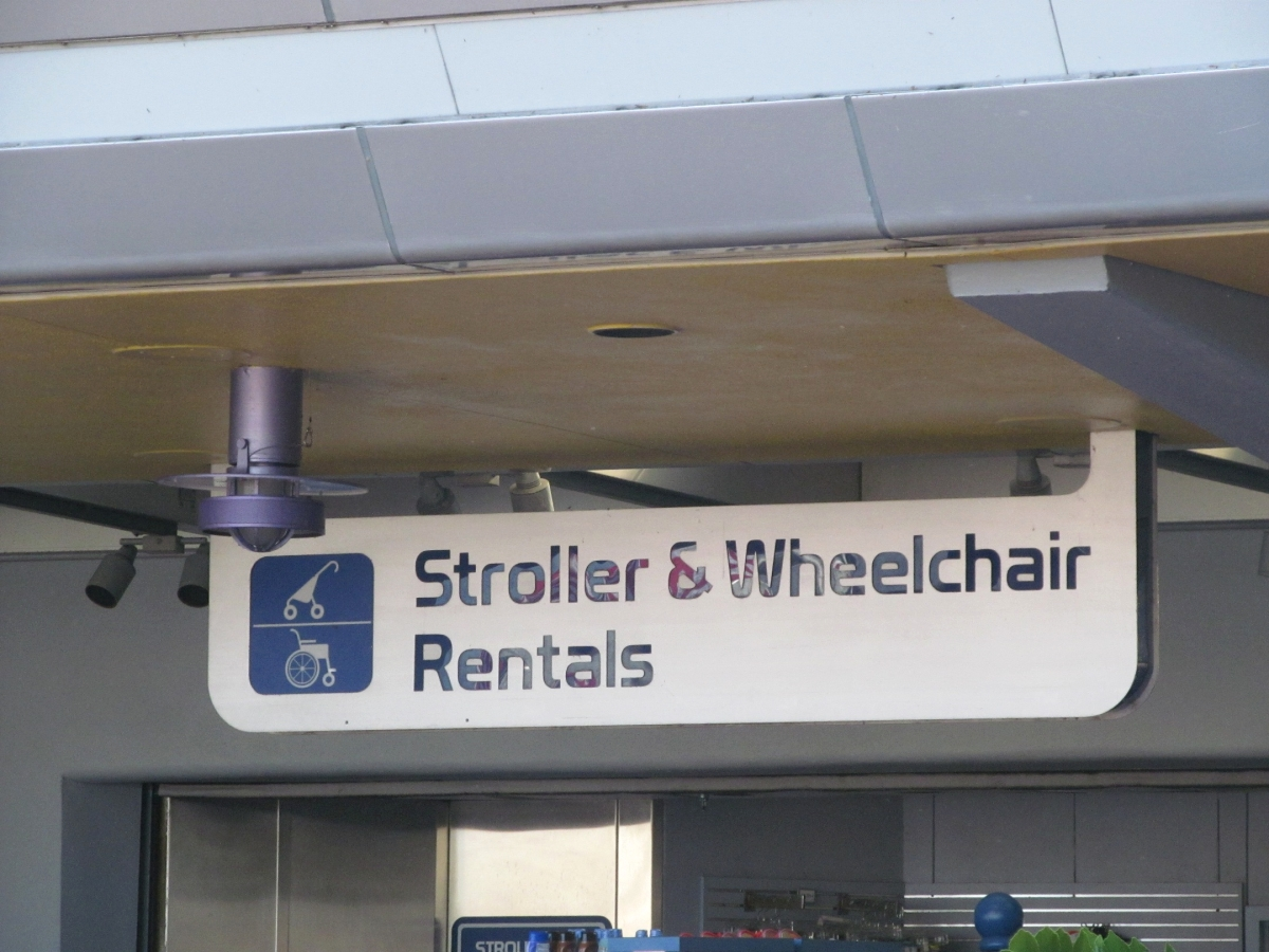 Wheel Chair Rentals Wdwthemeparks Epcot Stroller Wheelchair Rental