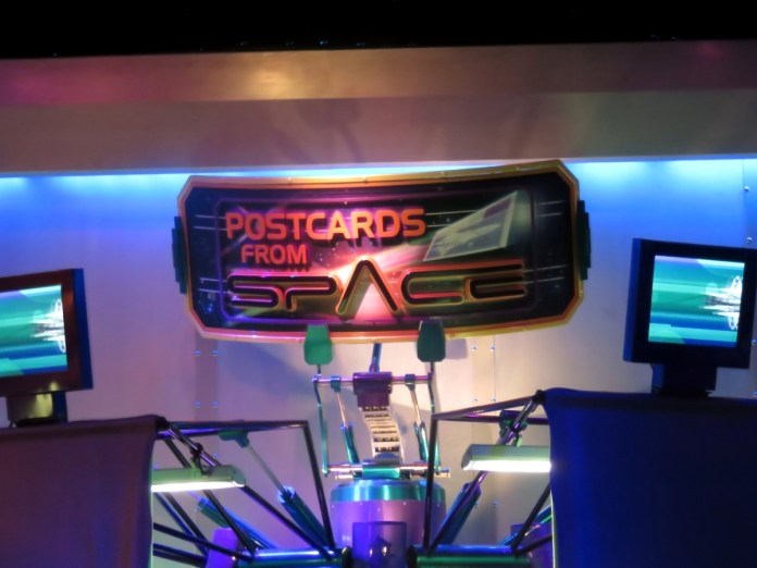 Resultado de imagem para Mission Space epcot Postcards from Space