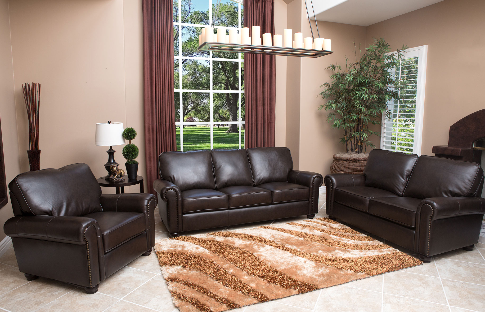 abbyson living berkshire italian leather sectional sofa design institute address venezia reviews amazon com