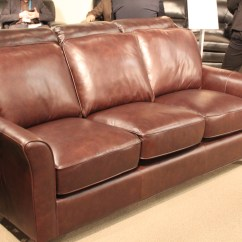 Leather Sofa Outlet Palliser Frame Construction Warehouse Simon Li Orion Top Grain