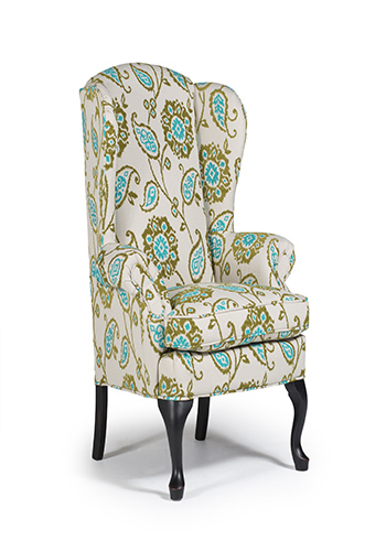 Sylvia Queen Anne Wing Chair Wholesale Design Warehouse