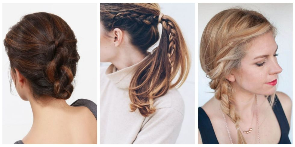 The 10 Easiest Summer Hair Ideas On Pinterest Easy Summer Hairstyles