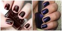 Best Dark Nail Polish Colors - Nail Polish for Fall and ...