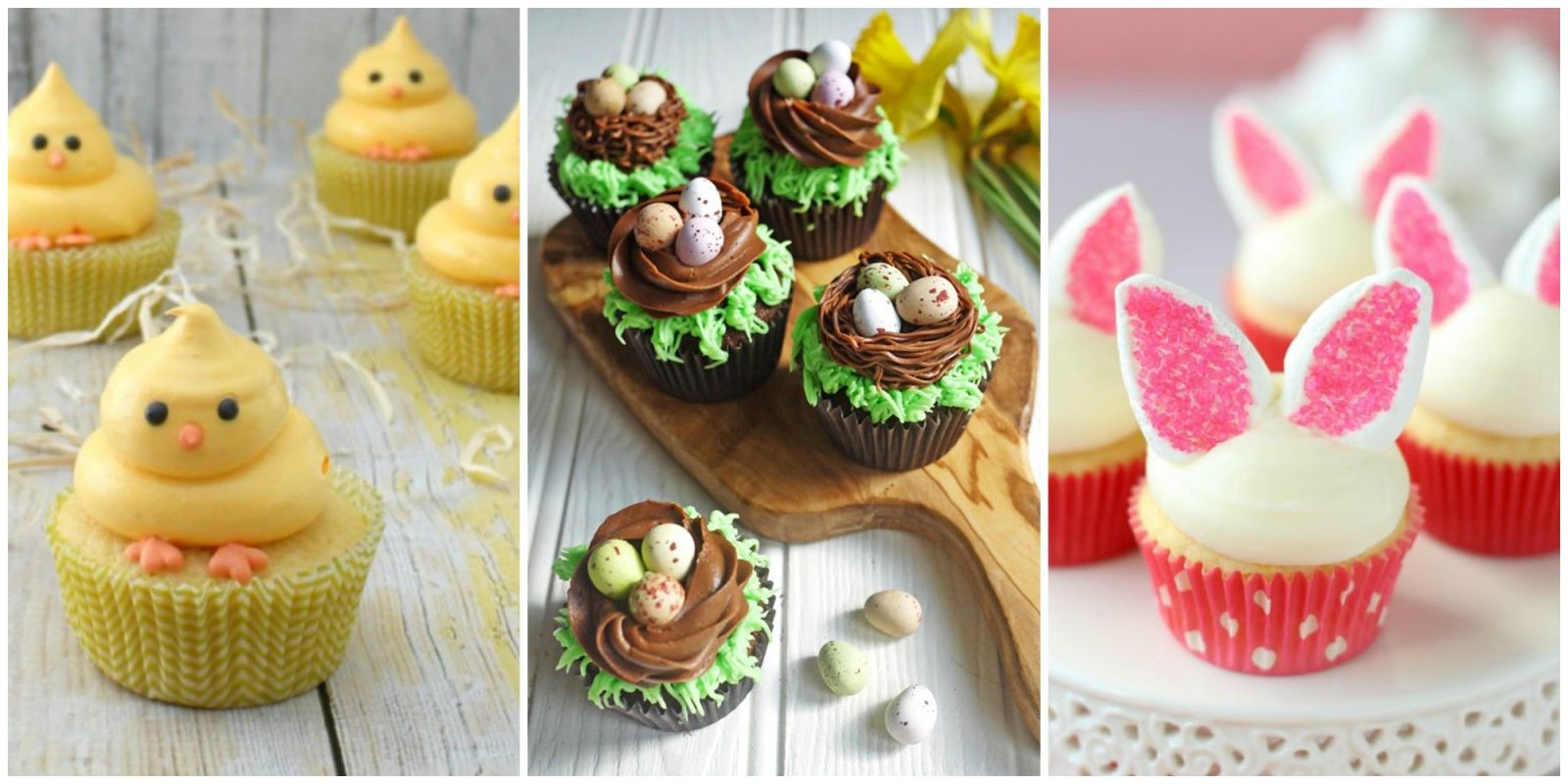 21 Cute Easter Cupcakes Easy Ideas For Easter Cupcake Recipes