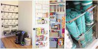20 Kitchen Organization and Storage Ideas