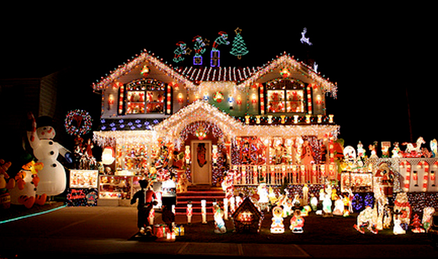 Crazy Outdoor Christmas Lights At WomansDay Com Photos Of